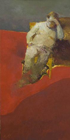 "Saatchi Art Artist Danny McCaw; Painting, ""THE CHIEF"" #art"