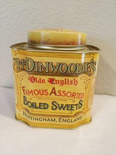 Vintage Mr. Dinwoodies Old English Assorted by KMSCollectibles