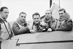 Polish 303 Squadron in the Battle of Britain. http://www.polishsquadronsremembered.com/303/303_BoB.html
