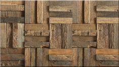 Mozaik falburkolat antik tölgyfa deszkákból