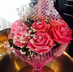 Bride to be hen do bouquet