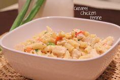 creamy chicken penne recipe