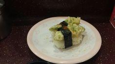 Malaysia - avocado tempura sushi