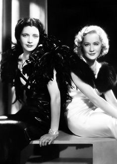 Kay Francis & Miriam Hopkins in 'Trouble in Paradise', 1932.