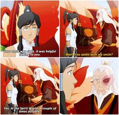 This whole part of Korra KILLED me. All the feels.