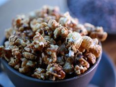 Get Cacao Nib Caramel Corn Recipe from Cooking Channel