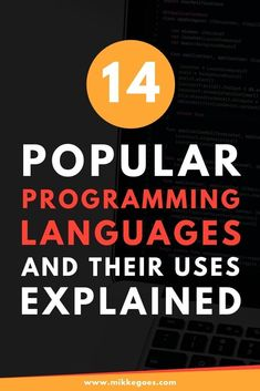 Not sure which programming language to learn? Find out more in this post with 14 different programming languages explained for beginners. Learn Programming, Computer Programming, Computer Coding, Python Programming, Learning Web, Learning Resources, Learn Computer Science, Computer Lessons, Different Programming Languages