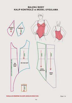 Libro de patrones de ropa interior - libros modelistas