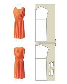 Schnittmuster: Kleid selber nähen – 7 luftige Ideen Sew airy dresses yourself: cuts and instructions Really cute women's dress patterns- they are all in German,. Sewing Dress, Love Sewing, Diy Dress, Sewing Clothes, Sewing Patterns Free, Clothing Patterns, Dress Patterns, Pattern Sewing, Pattern Dress