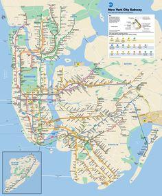 Mapa-del-metro-de-Nueva-York-A-Nueva-York-2017.jpg 2,000×2,418 pixeles