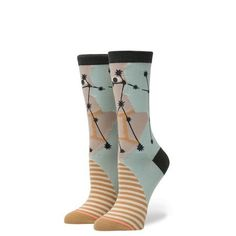 049a47bcf7 Make pick up lines a little easier by wearing the Stance Gemini Socks!  Ultra Lite