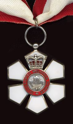 Order of Canada medal. My brother in law received this. Order Of Canada, Canada Eh, I Am Canadian, Canadian History, War Medals, True North, Quebec City, Anne Of Green Gables, Canada Travel
