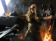 daronna-dawnforge-female-armourer-and-blacksmith-640.jpg (640×467)