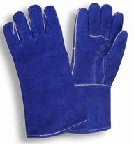 HandFortress Blue Split Cow Welders Glove$6