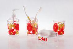 #PlumBlossom #flowers #modern #fashion #bathroom #bathroomdesign #bathroomset