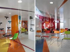 Artistic Training and Meeting Room Interior by ROW Studio
