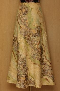 Dream Sand Waves / Felted Clothing / Skirt by LybaV on Etsy, $330.00