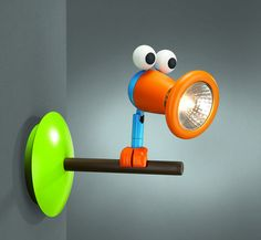 colorful wall light for children bedroom