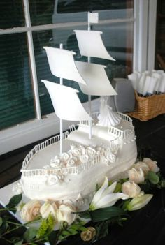 pirate wedding | My sister-in-law solicited my help in making a pirate ship wedding ...