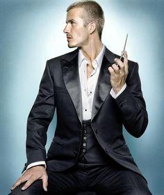 David Beckham style, fashionista of Paris