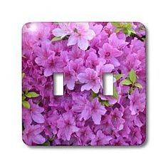 Pink Flowers - Light Switch Covers