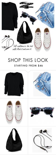 """Daily look"" by oliverab ❤ liked on Polyvore featuring MANGO, Converse, Ray-Ban, Diophy, Chanel, casualoutfit, CasualChic, casualwear, Dailylook and casualstyle"
