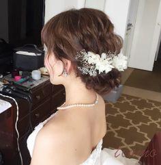 weddinghair 大人可愛いゆるふわ3スタイルで幸せホテル婚♡ の画像|大人可愛いブライダルヘアメイク 『tiamo』 の結婚カタログ