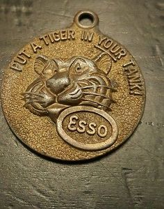 Vintage Put A Tiger In Your Tank From ESSO Gas Happy Motoring Key Club