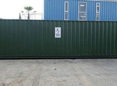 Shipping containers for sale at great prices, deals available on shipping containers of all sizes, new and used shipping containers for sale! 40ft Shipping Container, 40ft Container, Shipping Containers For Sale, Container Cabin, Cargo Container, Container Conversions, Ral Colours, Holiday Park, Storage Facility