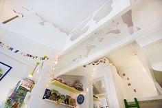 Børneværelse med kravlegang by designbykalle, via Flickr