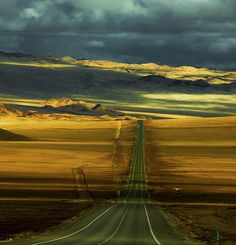 Pan American Highway, Chile by Philippe Reichert