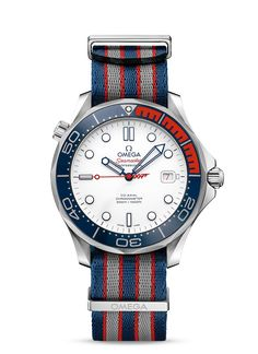 "OMEGA Watches: The Seamaster Diver 300M ""Commander's Watch"" Limited Edition"