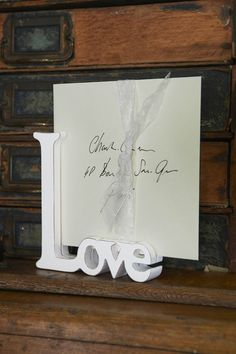 Love picture holder Riviera Maison