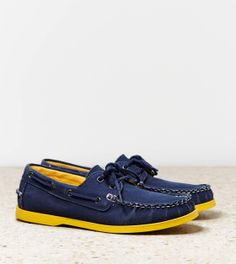 AEO Canvas Boat Shoe