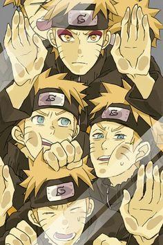 Trapped in glass~Naruto<< Me: Naruto's, what did you get yourselves into? Naruto: Nothing! Naruto: No. Naruto Uzumaki, Gaara, Anime Naruto, Inuyasha Anime, Manga Anime, Naruto Gaiden, Naruto And Sasuke, All Anime, Itachi