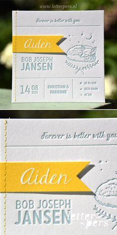 Letterpress_letterpers_geboortekaartje_Aiden_vos_vlaggetjes_sewing_naaien_geel_oudblauw.jpg 465×935 pixels