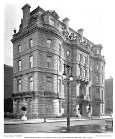 The George Crocker residence with alterations by Brite & Bacon c. 1899.