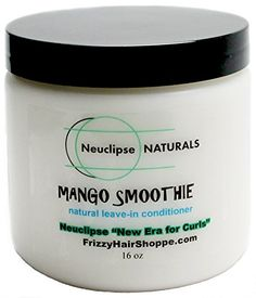 Frizzy Hair Shoppe Neuclipse Naturals Mango Smoothie 16 oz (New Era for Curls) Natural Hair Leave-in Conditioner & Moisturizer with Mango Butter, All Curl Types - http://naturalhaircaretoday.com/natural-hair-care-today/natural-hair/frizzy-hair-shoppe-neuclipse-naturals-mango-smoothie-16-oz-new-era-for-curls-natural-hair-leave-in-conditioner-moisturizer-with-mango-butter-all-curl-types/