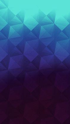 Geometric Blue #iPhoneWallpaper