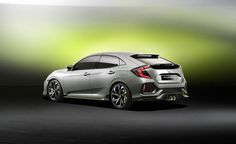 Honda Civic Hatchback Debuts in Concept Form - Photo Gallery of auto show news from Car and Driver - Car Images - Car and Driver