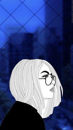 Image about wallpaper in 🎑Art & Drawings 🎨 by Dánae 💀 Unicornios Wallpaper, Cute Emoji Wallpaper, Cute Wallpaper Backgrounds, Cellphone Wallpaper, Cartoon Wallpaper, Cute Wallpapers, Cute Cartoon Eyes, Dope Cartoon Art, Girl Cartoon