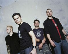 Chris Brown from Trapt (2nd man in)