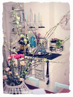 White country kitchen http://romppala.blogspot.fi