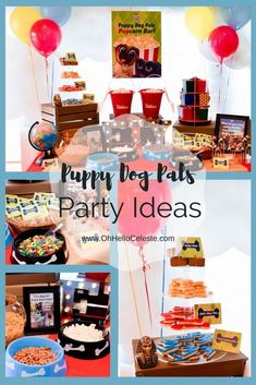 Celebrate FRiYAYS with these adorable Disney Junior Puppy Dog Pals party ideas! 1st Birthdays, 3rd Birthday Parties, Birthday Fun, Birthday Ideas, Bingo, Puppy Birthday, Puppy Party, Disney Junior, Friday