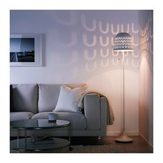 MAGNARP Floor lamp IKEA Gives a soft glowing light, that gives your ...