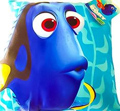 Finding Dory Pillow  Plush Decorative Throw Pillows for Kids 12 x 12 Dory * You can find out more details at the link of the image.
