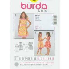 BURDA - 9545 Robe - enfant