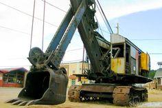 Bucyrus Steam Shovel in Nederland, Colorado   #USA #travel #mining #history