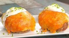 Chilli Stuffed Baked Potatoes - Twisted                                                                                                                                                                                 More