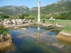 Antike Tempelanlage von Klaros Bilder Tempel/Kirche/Grabmal Antike Tempelanlage Klaros